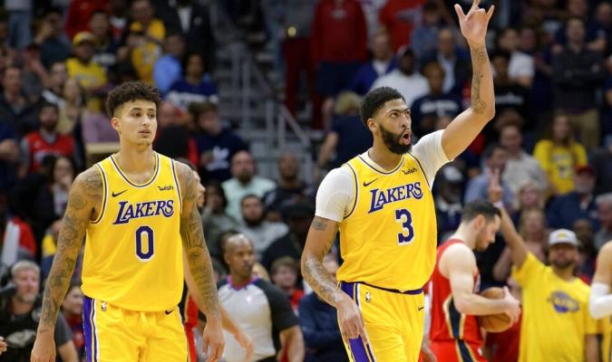 Lakers tiene récord de nueve victorias al hilo / Foto: AP