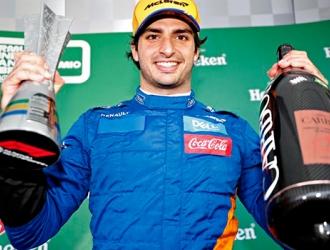 Sainz acabó tercer en el GP de Abu Dabi / Foto: Cortesía