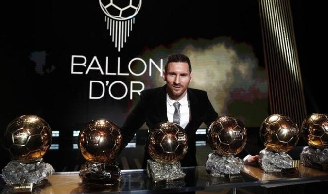 Messi ganó este lunes su sexto Balón de Oro  / Foto: Cortesía