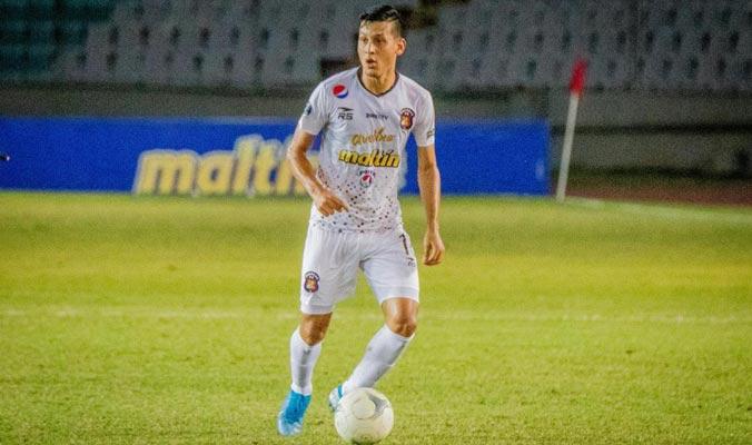 Contreras le anotó al Deportivo Lara || Foto: Caracas FC