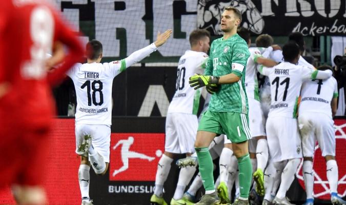 El Gladbach dio la sorpresa al derrotar al Bayern / Foto: AP