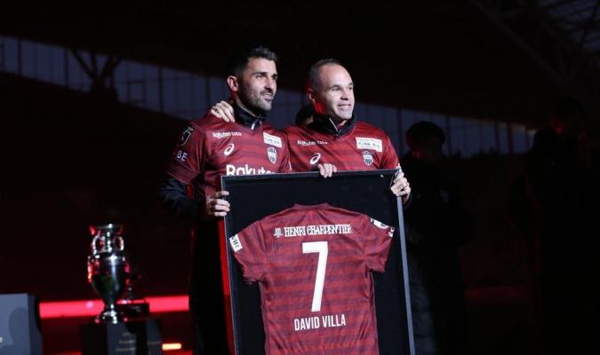 Villa fue nombrado mejor jugador de la temporada / Foto: Cortesía