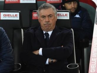 Ancelotti vive una crisis con el Napoli / Foto: Cortesía