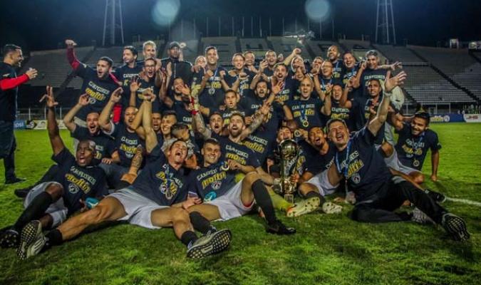 Los caraqueños celebraron / Foto: Caracas FC