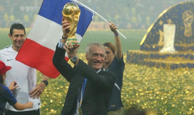 Deschamps viene de ganar la Copa del Mundo / Foto: Cortesía