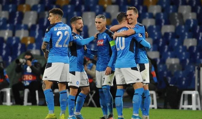 Milik anotó hat-trick para la causa napolitana / Foto: Cortesía