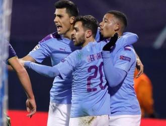 Jesús marcó un triplete en la victoria del City / Foto: EFE
