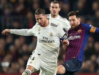 Real Madrid y Barcelona disputando el clásico español / Foto: cortesía