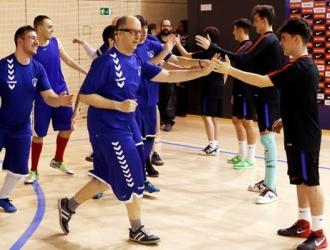 Son más de 600 deportistas los que participan/ Foto @FundacioFCB