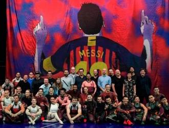 El espectáculo está inspirado en la vida de Messi/ Foto Cortesía