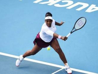 Serena se impuso por 6-3 y 6-2/ Foto Cortesía