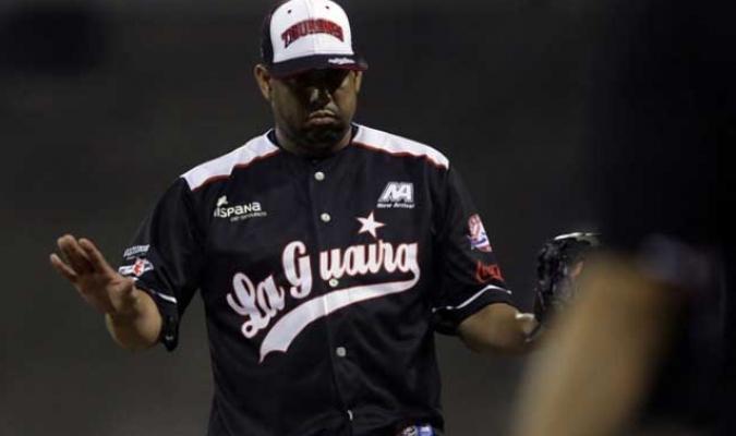 Osuna alabó la calidad del lanzador/ Foto @tiburones_net
