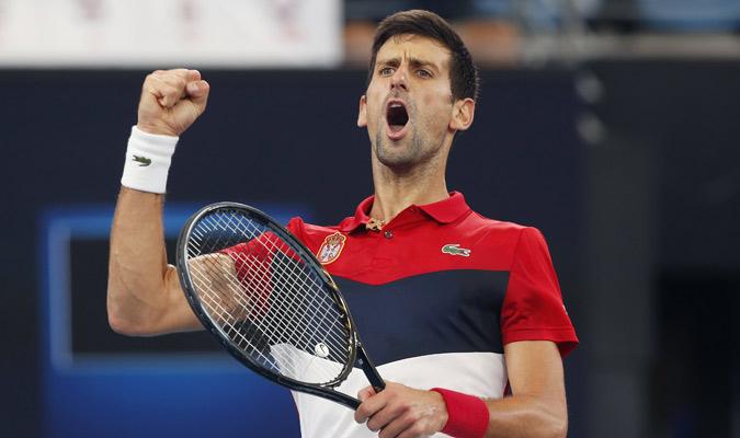 El serbio Djokovic briló en su compromiso / Foto: EFE