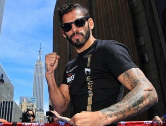 El boxeador va con todo / Foto: Cortesía