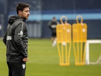 El técnico Víctor Sánchez del Amo es suspendido por el Málaga / Foto: Cortesía