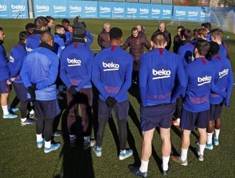 Valverde está en la cuerda floja / Foto: Cortesía (@FCBarcelona)