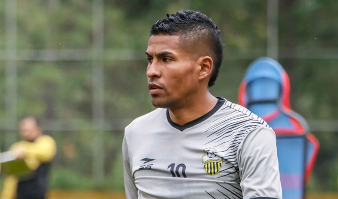 El panameño es refuerzo del conjunto aurinegro / Foto: Deportivo Táchira