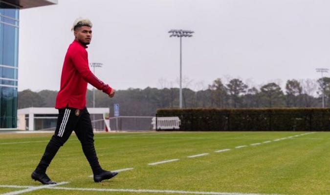 Josef empieza entrenamientos con lesión / Foto: Cortesía