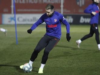Herrera entrena con normalidad / Foto: Atléti
