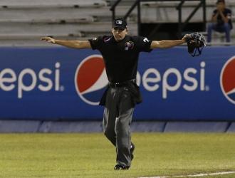 Edwar Pacheco en juego de la LVBP / Foto: Cortesía