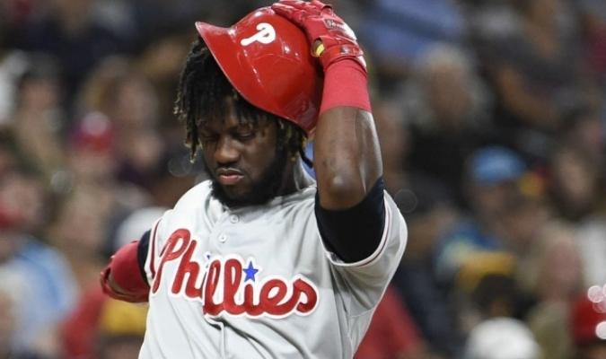 Odúbel Herrera es sacado de la rotación de Filadelfia / Foto: Cortesía