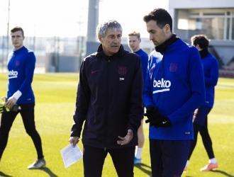 Setién disputará su primer partido como DT del Barça / Foto: Cortesía (@FCBarcelona)