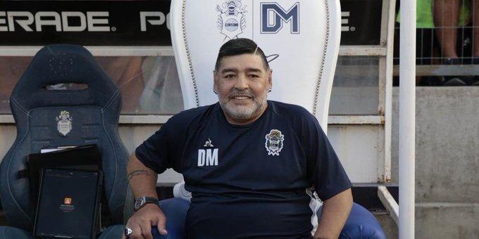 Maradona visitó Venezuela por motivos políticos / Foto: Cortesía