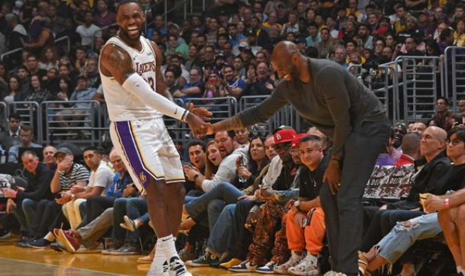 LeBron prometió continuar con el legado de Kobe en los Lakers/ Foto Cortesía