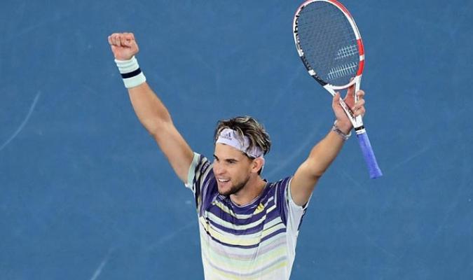 El austriaco ganó en cuatro sets al alemán/ Fotos EFE