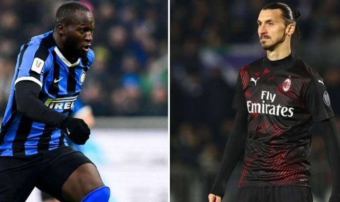 Lukaku e Ibrahimovic se enfrentaran en el derbi de Milán / foto cortesía