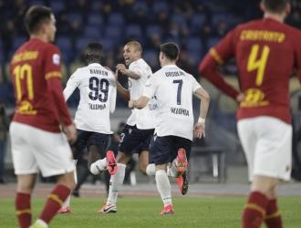 Bologna escaló al sexto lugar, un puesto por encima de la Roma, tras enlazar su tercera victoria se