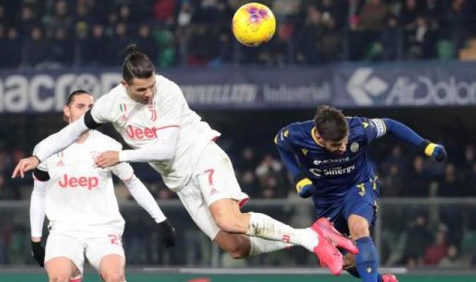 Juventus pierde frente a Verona / Foto: Cortesía
