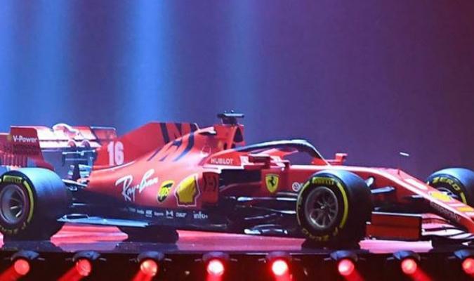 Así luce el monoplaza que utilizarán Vettel y Leclerc esta temporada