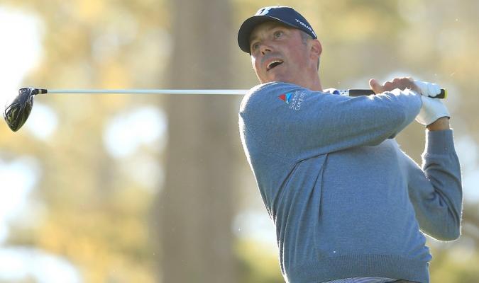 Matt Kuchar se posiciona en torneo de golf / Foto: Cortesía