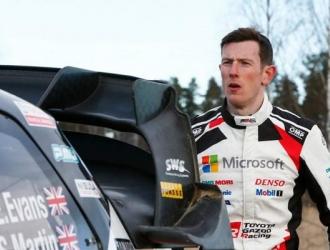 Evans tiene una ventaja de 17.2 segundos/ Foto motorsports