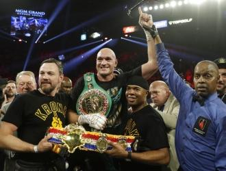 Fury derrotó a Wilder por nocaut / Foto: AP