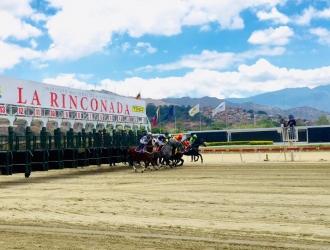 La Rinconada vivió una nueva jornada de carreras / Foto: Cortesía