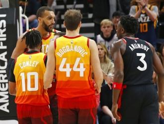 Gobert es el jugador de la NBA en dar positivo / Foto: AP