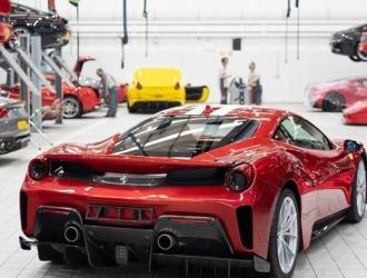 Ferrari suspendió actividades de producción / Foto: Cortesía