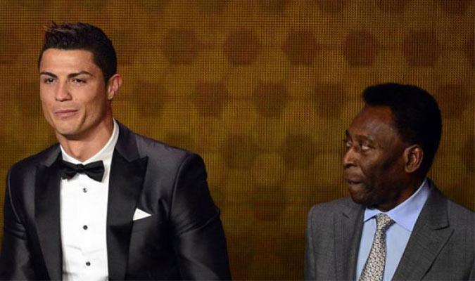 Pelé eligió al portugués por encima de Messi/ Foto Cortesía