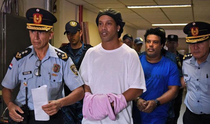 El jugador brasileño está preso / Foto: Cortesía