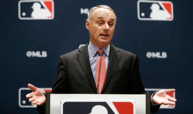 Rob Manfred aseguró que se jugará béisbol este año / Foto: Cortesía