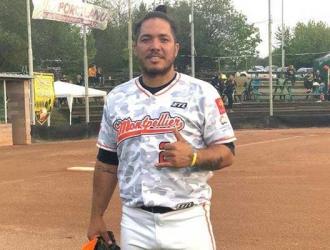 Infante jugó en Leones del Caracas / Foto: Cortesía