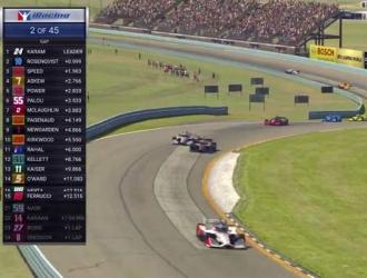 La carrera fue transmitida / Foto: AP