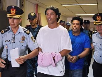 Ronaldinho obtiene arresto domiciliario / Foto: Cortesía