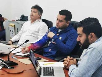 Los dirigentes hablaron sobre el plan / Foto: FVB