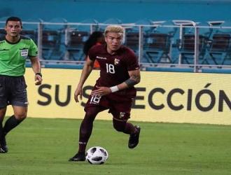 Peñaranda se perdió la Copa América 2019 por lesión / Foto: Cortesía