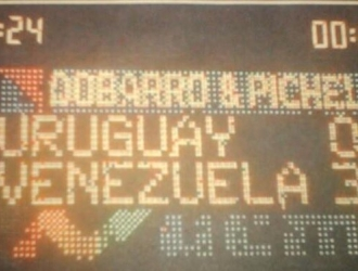 Fue la primera victoria de Venezuela en Uruguay / Foto: Cortesía