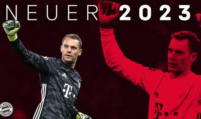 El alemán renovó hasta el 2023/ Foto fcbayern.com