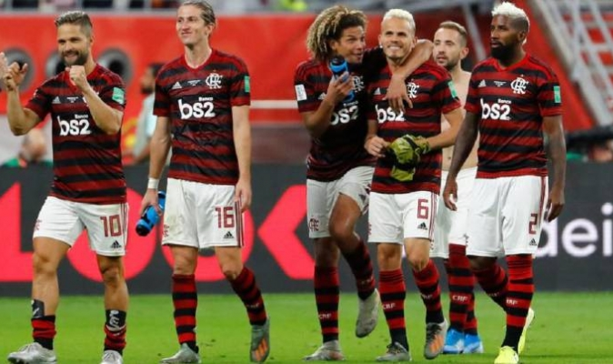 Flamengo continua entrenando / Foto: Cortesía